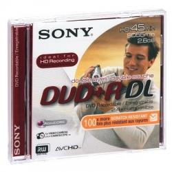 Диск DVD+R     2.6Gb Sony mini, 55мин.,двухслойный