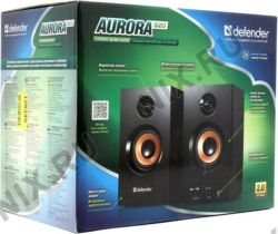 Колонки Defender Aurora S20  (2x10W, дерево)