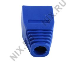 Колпачок изолирующий к коннектору RJ-45 (упаковка - 100 шт) 5bites US016-BL синий