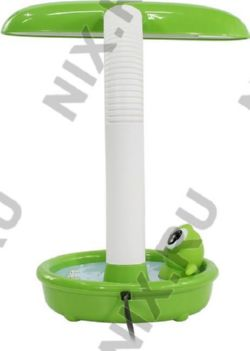 Светильник настольн. с энергосб. лампой ЭРА NL-255-G10Q-13W-GR Зеленый (G10Q, 13Вт)