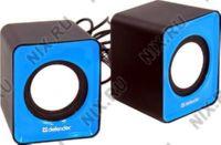 Колонки Defender SPK 22 (2x2.5W, синий, питание от USB) 65501