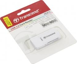 Картридер ext.  USB3.0 Transcend TS-RDF5W SDXC/microSDXC/SDHC/microSDHC Card Reader/Writer