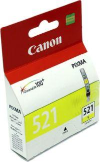 К-ж(Чернильница) Canon CLI-521Y Yellow для PIXMA iP3600/4600/MP540/620/630/980 (9мл)