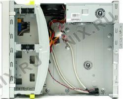 Корпус Micro-ATX(P4-300W) DeskTop INWIN BL634  White-Silver (24+4пин)