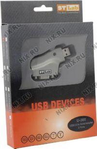 Конвертер (Кабель-адаптер) USB(A)->2xCOM9M STLab U-360 (RTL)