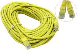 Кабель Patch Cord UTP кат.5e  15м   желтый