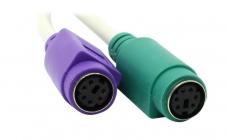 Конвертер (Кабель-адаптер) USB->PS/2x2 UAPS12 (адаптер для подключения PS/2 клавиатуры и мыши к USB