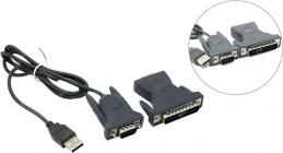Конвертер (Кабель-адаптер) USB(A)-COM9M/25M Espada U1R232-PL2-1B1-CT21