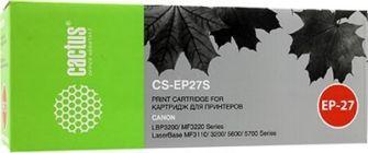 Картридж Cactus CS-EP27 аналог Canon EP-27 black для  LBP-3200/MF5630/5650/3110/5730/5750/5770