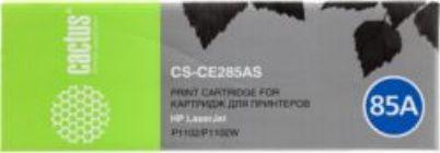 Картридж Cactus CS-CE285A (аналог hp CE285A) Black для hp LaserJet P1102/P1102w/M1132 1600 стр.