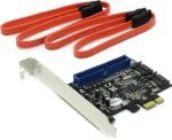 Контроллер PCI-Ex1 SATA-II STLab A-450 (RTL)SATA 6Gb/s,2port-int /UltraATA133,1-ports,SATA RAID 0/1