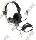 Наушники+микрофон AP/SAP-870 полуоткрыт. (шнур2,5м) 40мм/ 20-20000Гц(50-16000Гц)/ 260г (Galaxy/Sven)