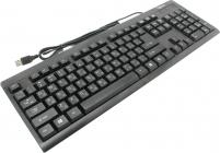 Клавиатура  Gembird KB-8300U-BL-R Black USB 108КЛ  влагозащита