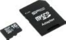 Модуль памяти Flash: microSDHC 16Gb+SDAdapter Silicon PowerSP016GBSTH010V10-SPClass10