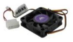 Вентилятор 60x60x15мм GlacialTech IceWind 6015 3пин,25,4 дБ,3500