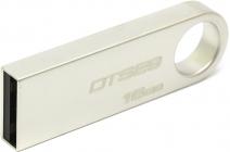 Модуль памяти Flash: USB2.0 Flash Drive 16Gb Kingston DataTraveler DTSE9H/16GB, Металл