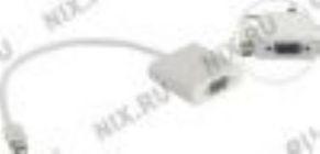 Конвертер mini DisplayPort(M) --> VGA(15F) VCOM VHD6070 (0.2 м)