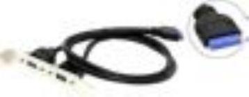 Планка портов в корпус 2 Port USB3.0 Espada BRCT-2PrtUSB3