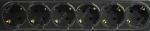 Сетевой фильтр  (1,8м)  Ippon BK-112 Special (6 розеток, для UPS вилка IEC320-C14) (удлиняемый)