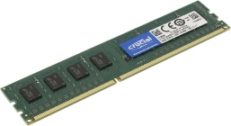 Модуль памяти DDR-III DIMM 4Gb PC3-12800 Crucial CT51264BD160B CL11, 1.35В