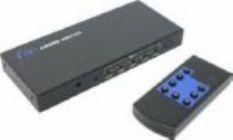 Переключатель видеосигнала 5-port HDMI Switch + ПДУ +б.п. Aikitec Videokit HTH-51 Plus(RTL)