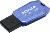 Модуль памяти Flash: USB2.0 Flash Drive 16Gb A-Data AUV100-16G-RBL  Синий