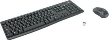 Беспроводной Комплект кл-ра + мышь Logitech Wireless Combo MK270 (Кл-ра,FM,USB+Мышь 3кн,Roll,FM,USB)