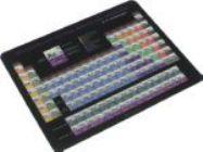 Коврик для мыши Defender School 50305 (Ультратонкий, пластиковый, 240 x190 x0.4 мм)
