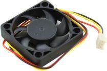 Вентилятор 50x50x10, 5bites  F5010B-3  (3пин, подшип.качения, 24дБ, 4500 об/мин)