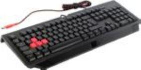 Клавиатура  Bloody B-120 Black USB игровая ,104КЛ, влагозащита