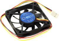 Вентилятор 60x60x10мм 5bites  F6010S-3 (3пин, 26дБ, 3500  об/мин)