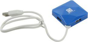 Концентратор USB-2.0 HUB 5bites HB24-202BL 4-port