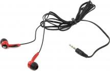 Наушники Defender Basic 604 черный + красный (63605)