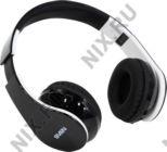 Беспроводные Наушники+микрофон Bluetooth 4.0 SVEN AP-B450MV Black-White (+ шнур 1.2м, Li-Ion)