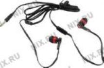 Наушники+микрофон Defender Pulse-420 Red (шнур 1.2м) 63424