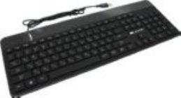 Клавиатура  CANYON CNS-HKB5-RU Black USB 107КЛ, подсветка клавиш