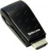 Конвертер HDMI ---> VGA (15F)+аудио Telecom TTC4020