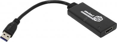 Кабель-адаптер USB 3.0 -> HDMI (F) Orient C024