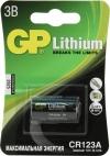 Элемент питания CR123A  GP  3V,  Lithium