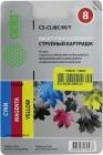 К-ж(Чернильница) CACTUS CS-CLI8 C/M/Y для Canon PIXMA MP500/10/20/30,MP600/800/970,iP3300/3500/4200