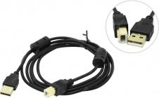 Кабель USB2.0  A--B 1.8м   (к принтерам и т.п.) Exegate EX138946RUS 2 фильтра