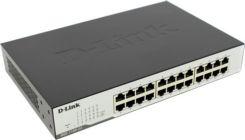 Сетевой Switch 10/100/1000*24 D-Link DGS-1100-24/B2A Упр-й коммутатор (24UTP 10/100/1000Mbps)