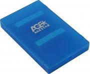 "Моб.шасси внеш. 2.5""SATA=USB2.0 AgeStar SUBCP1-Blue"