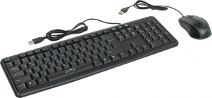 Комплект кл-ра + опт.мышь OKLICK 600M Black (Кл-ра, USB, +Мышь 6кн, Roll, USB) 337142