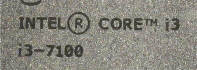 Процессор Soc-1151 Intel Core i3-7100 (OEM) 3.9 GHz/2core/SVGA HD Graphics 630/0.5+3Mb/51W/8 GT/s