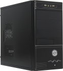 Корпус Micro-ATX(P4-350W) Exegate MA-368X Black  (24+4пин) EX261402RUS