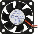 Вентилятор 40x40x10 5bites F4010S-2 (2пин,22дБ,5500 об/мин)