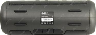 Колонка SVEN PS-250BL Black (Портативная, 2x5W, Bluetooth, microSD, FM, Li-Ion)