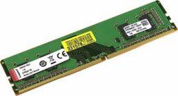 Модуль памяти DDR-IV DIMM 4Gb PC4-19200 Kingston KVR24N17S6/4   CL17