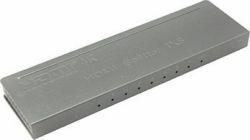 Разветвитель 8-port HDMI Splitter (1in  -  8out, 1.4b) +б.п  Orient HSP0108H-mini